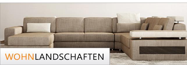 Wohnlandschaften xxl i modernes design und exklusiver for Sofas und wohnlandschaften